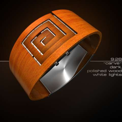 19 Wacky Wooden Watches