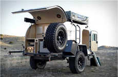 Adventurous Automobile Campers - The Moby1 XTR Expedition Trailer is Made for an Outback Adventure