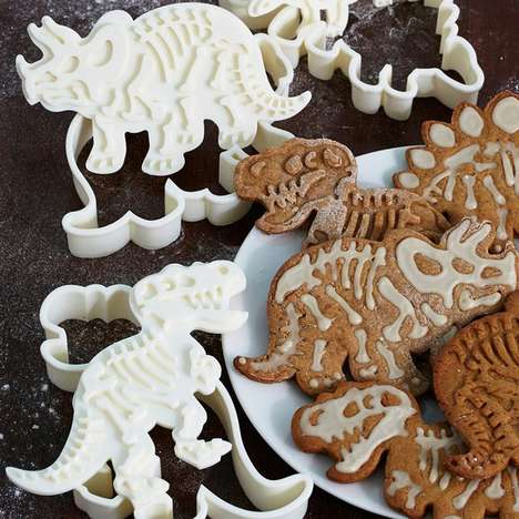 Prehistoric Cookie Cutters