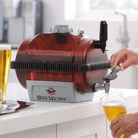 DIY Beer Distillers - This Beer Machine Making Kit Creates Your Favorite Drink with Ease