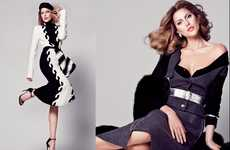 Supermodel Tribute Editorials - The V Magazine Photoshoot Stars Catherine McNeil