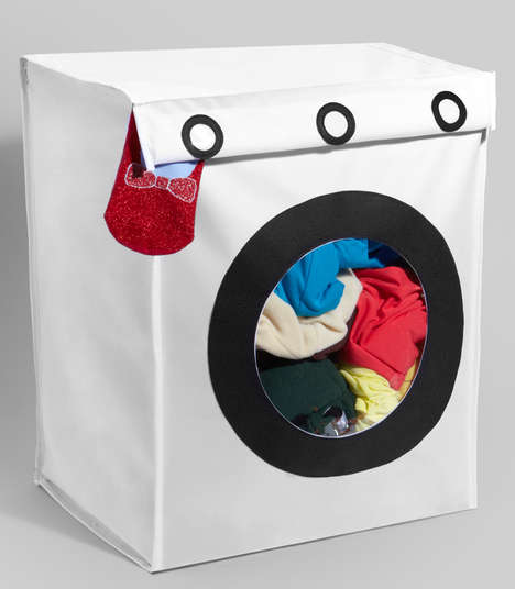 Appliance-Resembling Clothing Storage