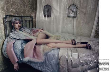 The Private Elegance Vogue Italia Editorial is Heartbreaking