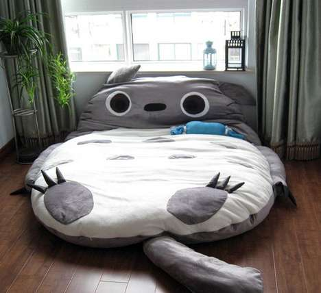 Giant Anime Character Beds
