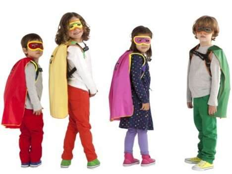 Caped Book Bags - The SuperME Backpack Cape Makes Going Back to School Feel Heroic