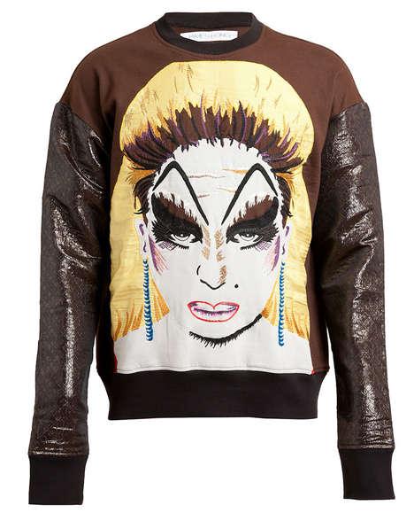 Urban Glam-Rock Knitwear