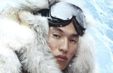Luxe Eskimo Advertising - The Moncler Gamme Rouge Fall/Winter Campaign is Cozy