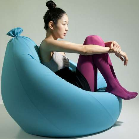 Oversized Balloon Chairs - The 'Baloon' Bean Bag Lets You Sit on a Cloud of Comfort