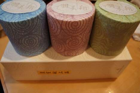 Designer Toilet Paper - Chic Japanese Toilet Paper Priced at $17 a Roll