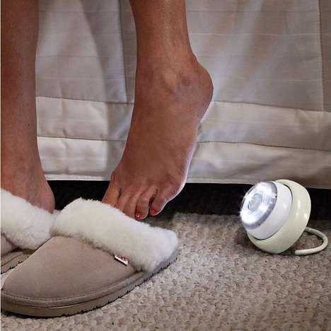 Motion-Activated Illuminators - These Handy Bedside Lights Make Navigating in the Dark Easier