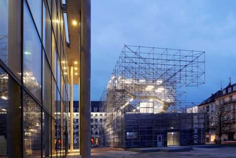 Temporary Scaffolding Museums