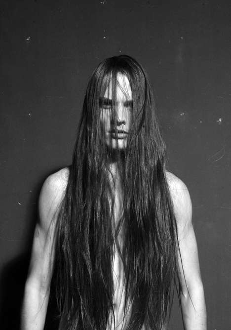 Raw Long-Haired Editorials