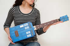 Sci-Fi Island Instruments - The Tardis Ukulele Lets 'Doctor Who' Fans Jam Out