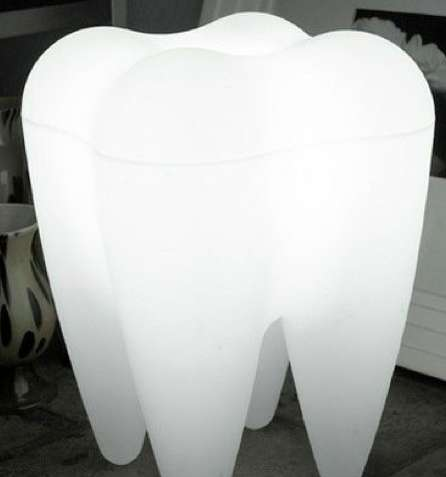 Enlarged Pearly White Lights