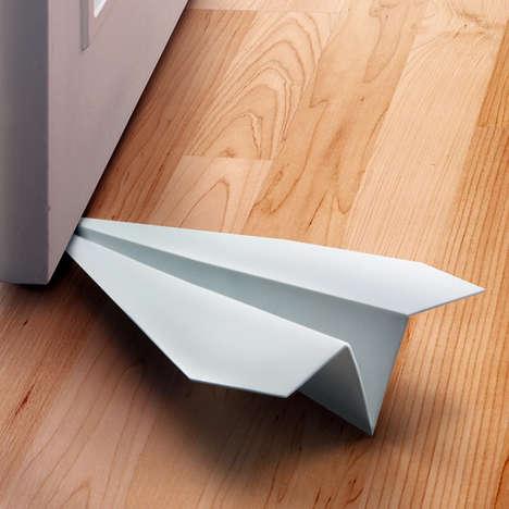 Paper Plane Doorstoppers