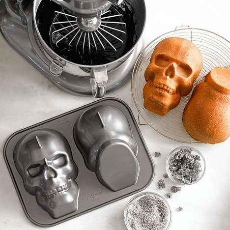 Ghastly Halloween Treat Molds
