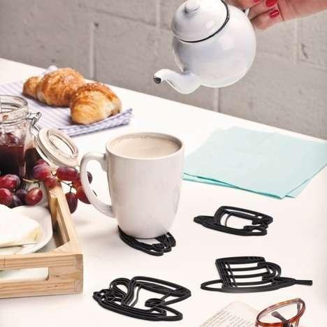 Literal Mug Coasters