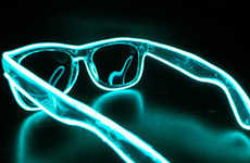 Handmade LED Sunglasses