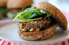 Southwestern Veggie Burgers - This Quinoa Burger Patty is Tasty and Good for You