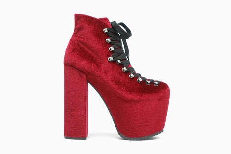 Witchy Velvet Platforms