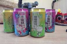 Girly Cartoon-Based Alcohol - Hello Kitty Beer Has Made Drinking an Absolutely Adorable Activity