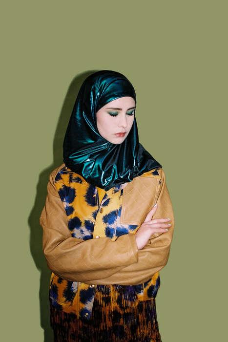 Burka-Clad Couture Captures