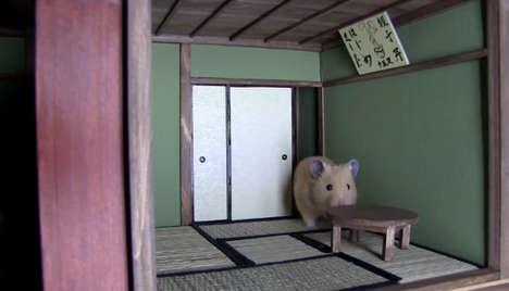Whimsical Hamster Mansions
