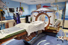 Kid-Friendly Cartoon Scanners - This Pirate CT Scanner Makes Sick Children More Comfortable
