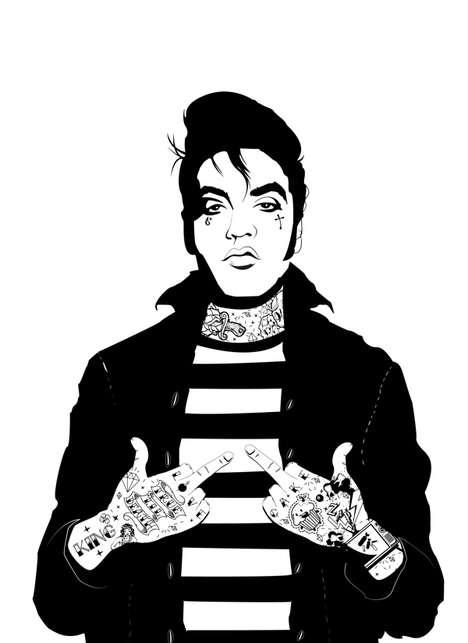 Modern Rock Icon Sketches