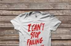 Romantic Message Tees - The 'Can't Stop' American Apparel Shirt Has a Powerfuly Romantic Message