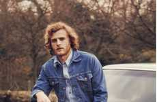 Vintage Denim Lookbooks - The New Levi's Vintage Clothing Collection is Rustically Bohemian