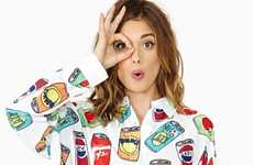 Soda Junkie Fashions - The Nice Cans Crop Shirt from Nasty Gal Celebrates Unhealthy Beverages