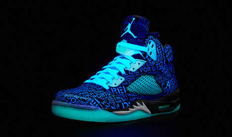 Neon Commemorative Sneakers