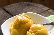 Fruity Chili-Flavored Desserts - This Recipe for Mango Chili Sorbet is Refreshingly Spicy