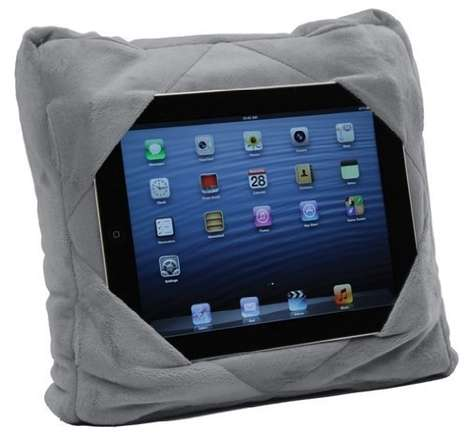 The GoGo Pillow Allows You to Use Your Tablet With Ease