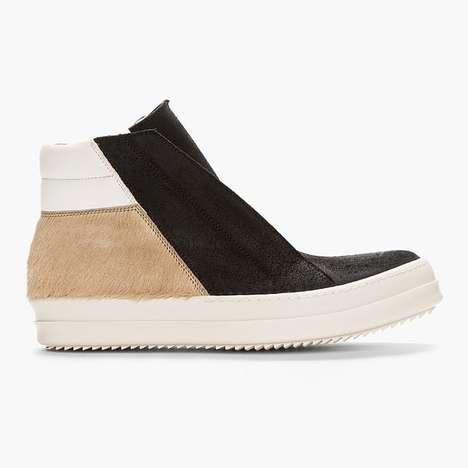 Minimalist Patchwork Sneakers