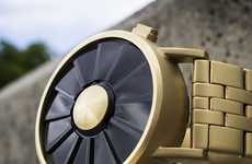 Futuristic Propeller Watches - The Kisai Blade Watch Has LED Hands and is USB-Powered