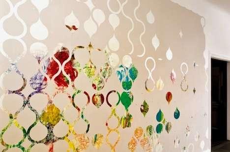 Customizable Adhesive Wallpaper