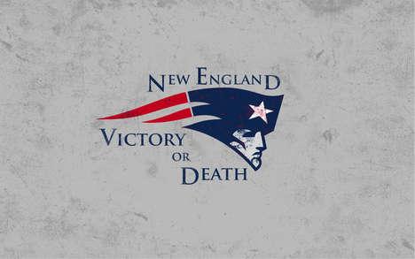 Fantasy-Inspired NFL Logos