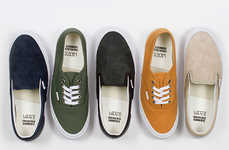Purposely Clashing Sneakers - Vans Recently Releases Mis-Matched Shoes in a Collaboration Collection