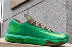 Bamboo-Inspired Kicks - NBA Athlete Kevin Durant Releases the Bamboo KD 6 Editions