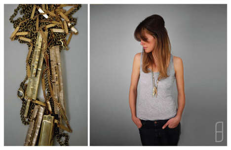 Textured Metal Jewelry