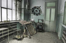 Hauntingly Realistic Asylum Photos - Dan Marbaix's Haunted Asylum Photography Has a Disturbing Feel