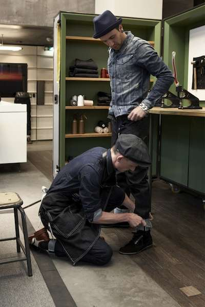 Custom Denim Shops - Build-Your-Own Jean Collection with the G-Star Raw Atelier