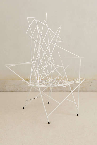 Contemporary Wireframe Seating