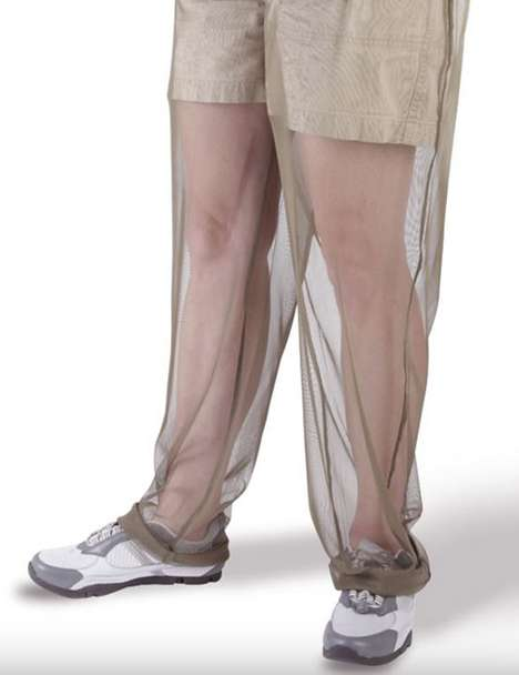 Sting-Proof Mesh Wear - Protect Yourself from Pesky Bug Bites with Mosquito Net Pants