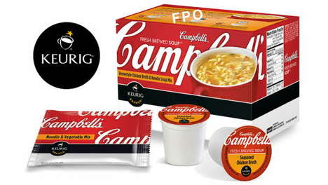 Dual-Threat Coffee Machines - The Campbell's Soup K-Cup Lets You Get More from Your Keurig