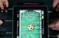 App-Powered Foosball Tables - The iPad Foosball Has Been Designed for Optimal Gaming