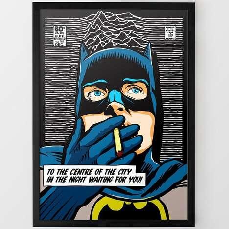Post-Punk Superhero Portraits