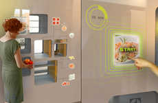 Interactive Touchscreen Kitchens